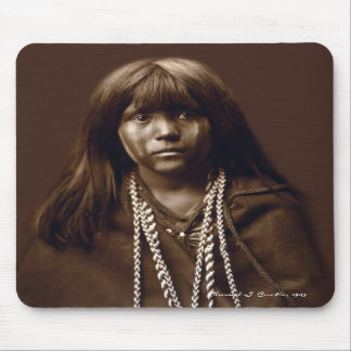 Mosa - A Mojave Woman - Native American Archives Mouse Pads