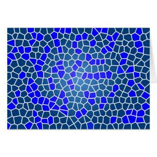 mosaic-269080 DIGITAL SNAKE SKIN ABSTRCT RANDOM m Greeting Card
