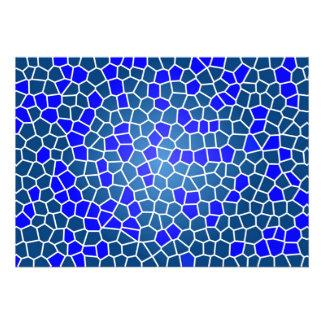 mosaic-269080 DIGITAL SNAKE SKIN ABSTRCT RANDOM m Custom Invitations