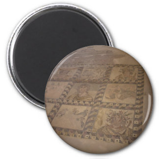 mosaic 6 cm round magnet