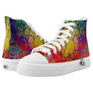 Mosaic Art Printed Shoes