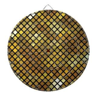 Mosaic Background Dartboard