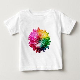 Mosaic Beautiful Multicoloured Flower Baby T-Shirt