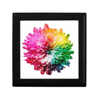 Mosaic Beautiful Multicoloured Flower Gift Box
