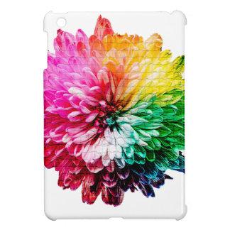 Mosaic Beautiful Multicoloured Flower iPad Mini Cover