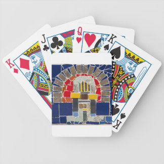 Mosaic Bicycle Playing Cards