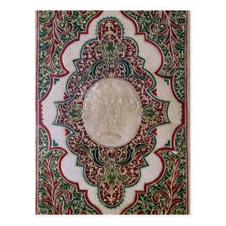 Mosaic binding, c.1745 postcard