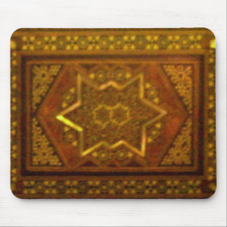 Mosaic Box in Brown Mouse Pad