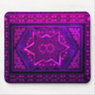 Mosaic Box in Purple Mouse Pad
