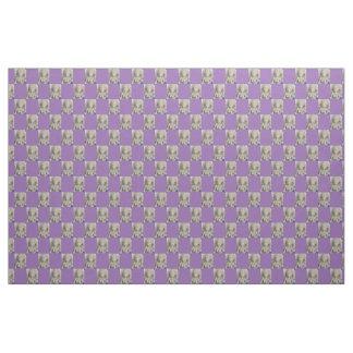 mosaic buddha purple check pattern any color fabric