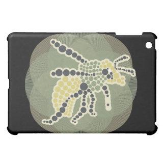 Mosaic Bug on Black  iPad Mini Cases