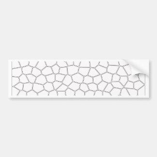 Mosaic Bumper Sticker