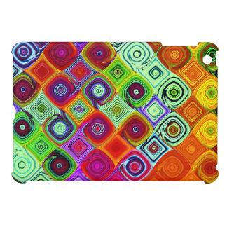 Mosaic Colourful Abstract Art iPad Mini Cover