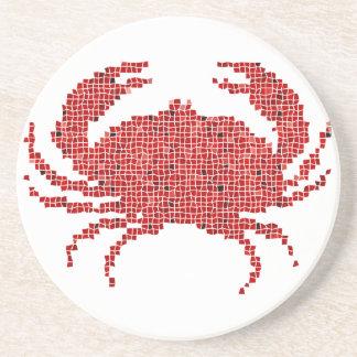 Mosaic Crab Coaster