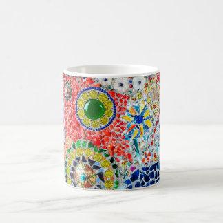 Mosaic creation basic white mug