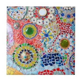 Mosaic creation ceramic tile