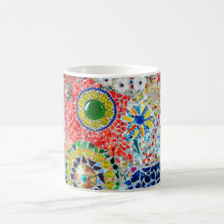Mosaic creation coffee mug