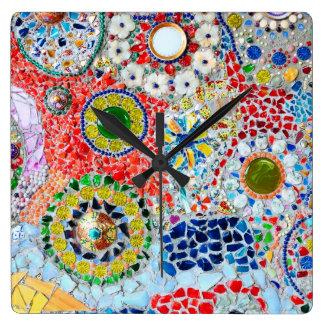Mosaic creation wallclock