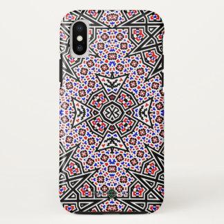 Mosaic Cross iPhone X Case