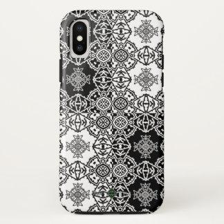 Mosaic Cross Wallpaper Grid iPhone X Case