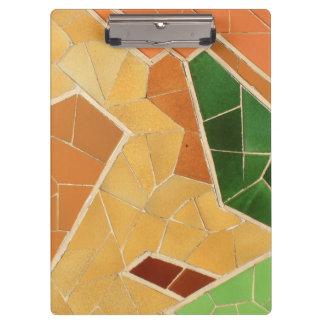 Mosaic decoration clipboard