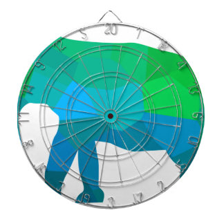 Mosaic Elephant 1 Dartboard