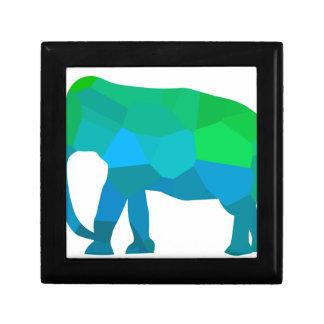 Mosaic Elephant 1 Gift Box