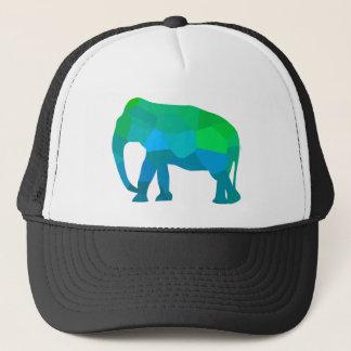 Mosaic Elephant 1 Trucker Hat