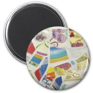 Mosaic - Grapes Magnet