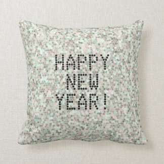 Mosaic Happy New Year Cushion