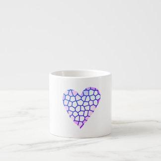 Mosaic Heart Espresso Cup