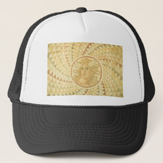 Mosaic in Athens, Greece Trucker Hat