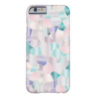 Mosaic Iridescent Pastels Barely There iPhone 6 Case