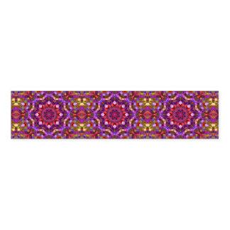 Mosaic Kaleidoscope Pattern   Napkin Bands
