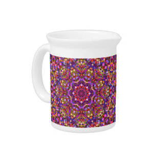 Mosaic Kaleidoscope    Porcelain Pitchers