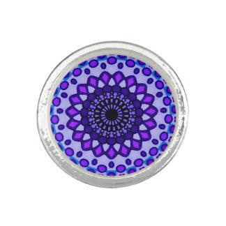Mosaic lavender ring