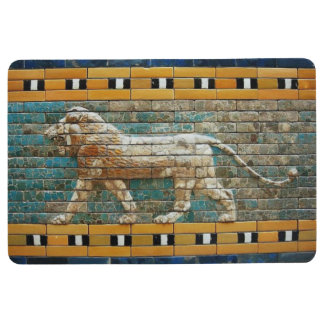 Mosaic Lion Floor Mat