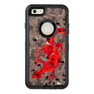 Mosaic Lizard Fantasy OtterBox iPhone 6/6s Plus Case