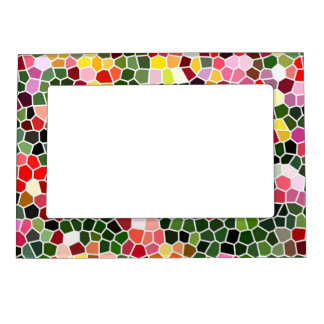 Mosaic Magnetic Photo Frames