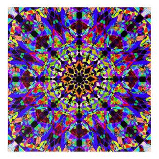 Mosaic Mandala Acrylic Wall Art