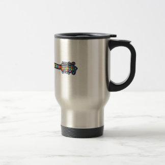 Mosaic Mandolin Coffee Mug