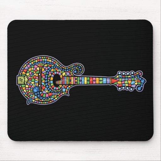 Mosaic Mandolin Mouse Pad