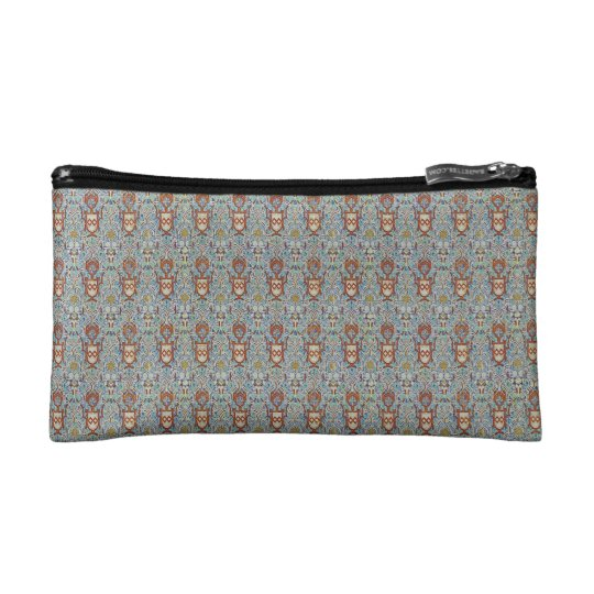 Mosaic of FrenchGrey colour of the Alhambra Cosmetic Bag