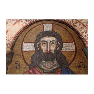 Mosaic Of Jesus Acrylic Print