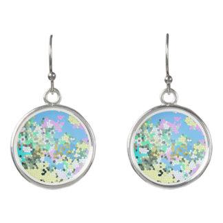 Mosaic Pastel Earrings