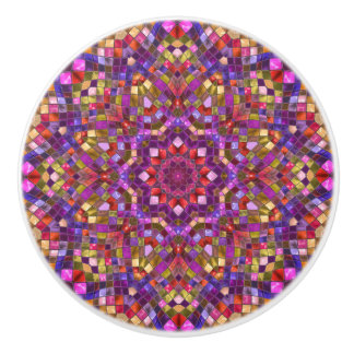 Mosaic Pattern   Ceramic Knobs And Pulls