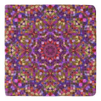 Mosaic Pattern  Custom Stone Trivets