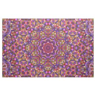 Mosaic Pattern  Fabric