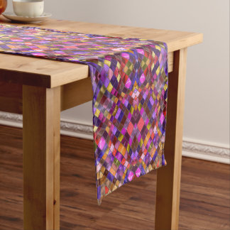 Mosaic Pattern Kaleidoscope    Table Runners