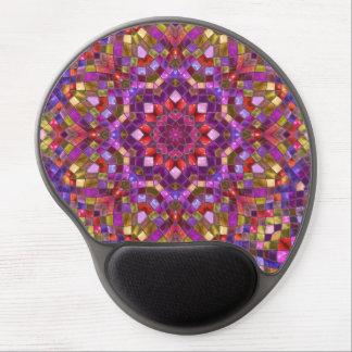 Mosaic Pattern Vintage Kaleidoscope  Gel Mousepad